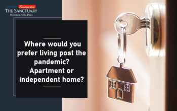 Where would you prefer living post the pandemic? Apartment or independent home?